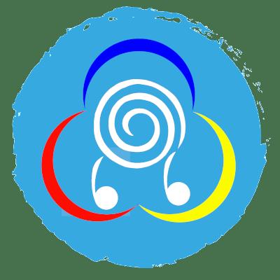 elly color blue circle icon
